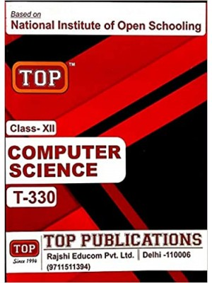 NIOS - 330 Computer Science - Guide Book For Class 12th - English Medium