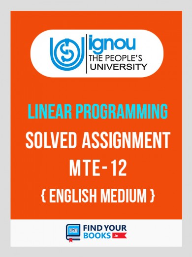 MTE-12 IGNOU Solved Assignment 2018-19 English  Medium