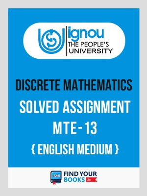 MTE-13 IGNOU Solved Assignment 2019-20 English  Medium