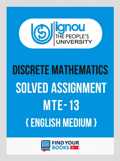 MTE-13 IGNOU Solved Assignment 2018-19 English  Medium