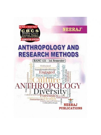 BANC-131 Book :Anthropology and Research Methods in English Medium