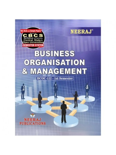 BCOC-132  Book : Business Organisation & Management in English Medium