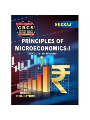 BECC-131 Book : Principles of Microeconomics-I in English Medium