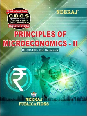 BECC-132  Book : Principles of Microeconomics-II in English Medium