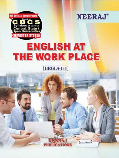 BEGLA-136  Book : English at The Work Place