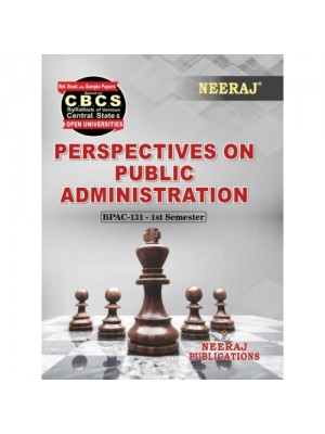 BPAC-131 Books : Perspectives on Public Administration in English Medium