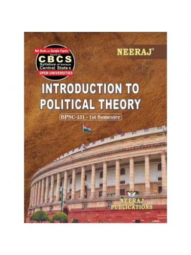 BPSC-131 Book : Introduction of Political Theory in English Medium