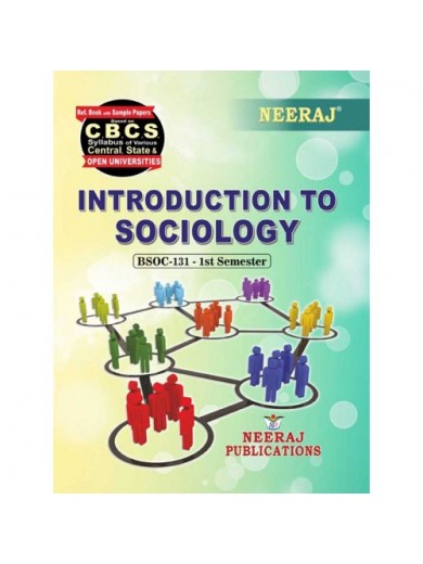 BSOC-131 Book : Introduction To Sociology in English Medium