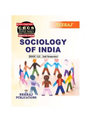BSOC-132  Book : Sociology of India in English Medium