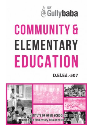 NIOS D.El.Ed  507 -  Community & Elementary Education - English Medium GPH Publication