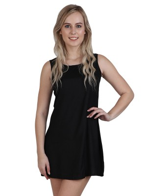 Magnogal Women Elegant Black Dress DR-82 A