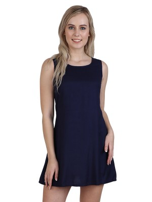 Magnogal Women Beautiful Blue Dress DR-82 B