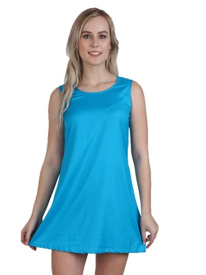 Magnogal Women Trendy Turquoise Dress DR-82 E