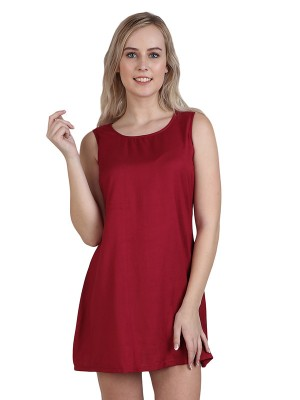 Magnogal Women Majestic Maroon Dress DR-82 F
