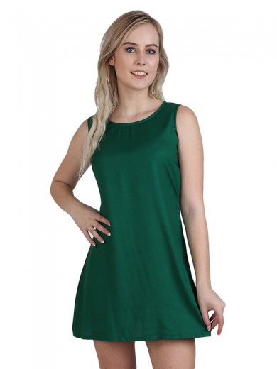 Magnogal Women Chiller Green Dress DR-82 L