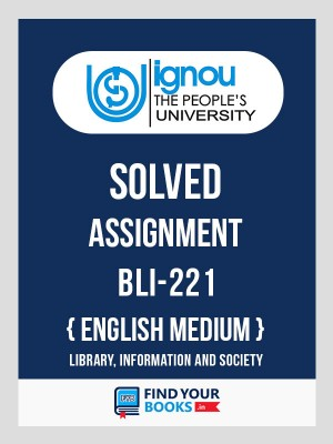 BLI-221 IGNOU Solved Assignment 2018-19