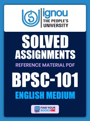 BPSC-101 Solved Assignment for Ignou 2020-21 - Hindi Medium