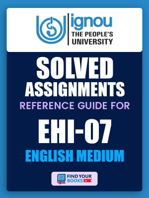 BHIE-107/EHI-7 IGNOU Solved Assignment 2019-20 in English Medium