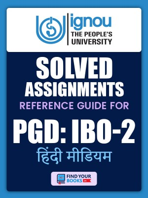 PGDIBO-02 IGNOU Solved Assignment 2020-21 in Hindi Medium