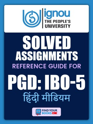 PGDIBO-05 IGNOU Solved Assignment 2019-20 in Hindi Medium