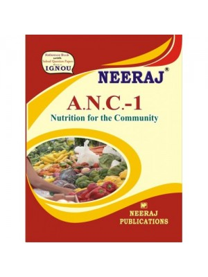 IGNOU ANC1 Nutritions for Community in English Medium