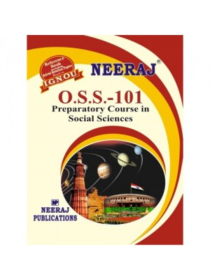 OSS Preparatory Course in Social Science (IGNOU Guide Book for O.S.S.) English Medium