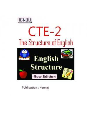 CTE-02 The Structure of English : IGNOU Book