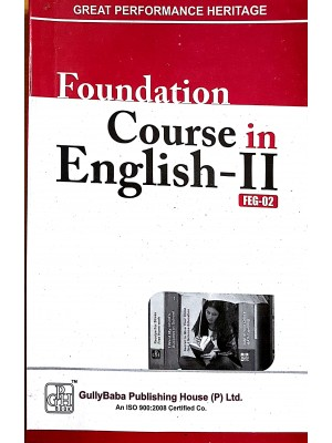 FEG-2 Foundation Course In English-2 - IGNOU Guide Book For FEG2 -  GPH Publication