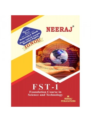 FST01 - Science & Technology - IGNOU Guide Book For FST1 - English Medium