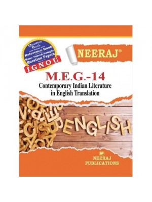 MEG-14 Contemporary Indian Literature in English Translation - IGNOU Guide Book For MEG14