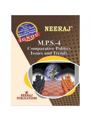 MPS-04 IGNOU Guide Book For Comparative Politics - English Medium