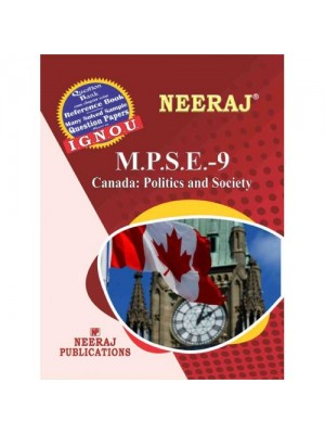 MPSE9 - IGNOU Guide Book for Canada : Politics And State - English Medium