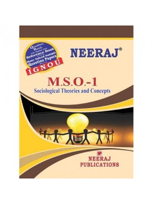 IGNOU: MSO-001 Sociological Theories & Concepts (ENLISH)