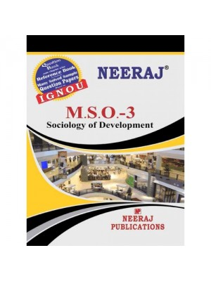 IGNOU : MSO-03 Sociology of Development (ENGLISH)