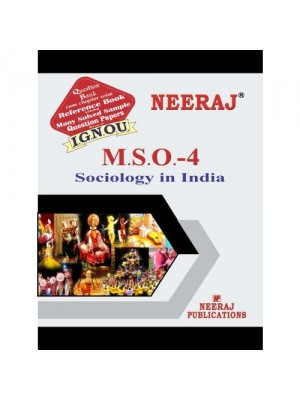 IGNOU : MSO-04 Sociology in India (ENGLISH)