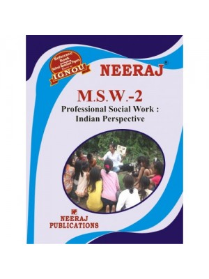 MSW-2 Professional Social Work: Indian Prospective - (ENGLISH)