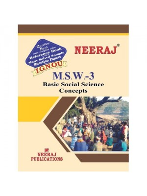 MSW-3 Basic Social Science Concepts (ENGLISH)