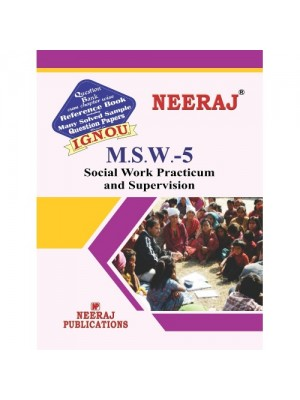 MSW-5 Social Work Practical & Supervision in English Medium