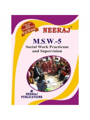 MSW-5 Social Work Practical & Supervision