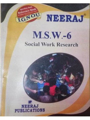 MSW-6 Social Work Research (ENGLISH)