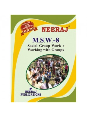 MSW-8 Social Group Work : Working with Groups in English Medium