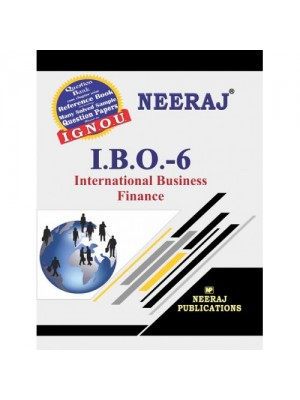 IBO-6 International Business Finance ( IGNOU Guide Book For IBO-6) English Medium