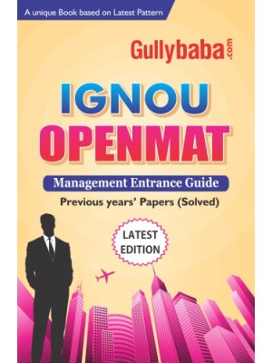 IGNOU Openmat - Help book for MBA Entrance Guide Book in English Medium