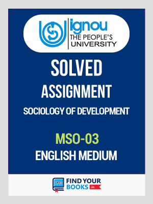 MSO-3 IGNOU Solved Assignment 2019-20 in English Medium