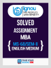 MS-68 IGNOU Solved Assignment For MS68 - 2019 for 2nd Sem.