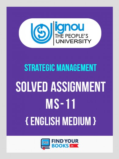MS11 - IGNOU Solved Assignment For MS11 - 2018