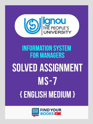 MS-7 IGNOU Solved Assignment For MS07 - 2019 for 2nd Sem