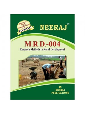 MRD-004 - Research Methods In Rural Development - English Medium