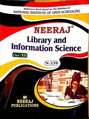 NIOS Library and Information Science(339) Guide Book For Class 12th