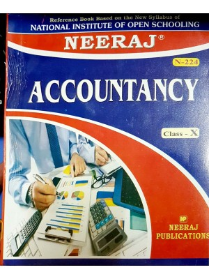 NIOS Accountancy (224) in English Medium for  10th Class